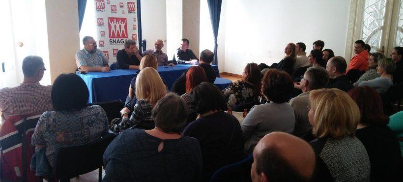 U Zagrebu održan skup članova i simpatizera SNAGA-e