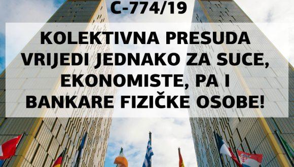 """KRUCIJALNA PRESUDA SUDA EU C-774/19: """"SVOJSTVO POTROŠAČA PROIZLAZI IZ SVRHE UGOVORA, A NE IZ SUBJEKTIVNOG SVOJSTVA ILI POSEBNIH ZNANJA FIZIČKE OSOBE!"""""""