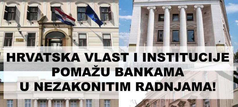 STOP KAMATARENJU KOJE PROVODE HRVATSKE BANKE!
