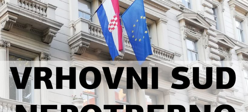 REAKCIJA UDRUGE FRANAK NA PRIOPĆENJE VRHOVNOG SUDA RH OD 23.9.2021.